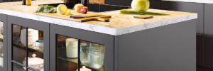 Counter Top With Storage Underneath